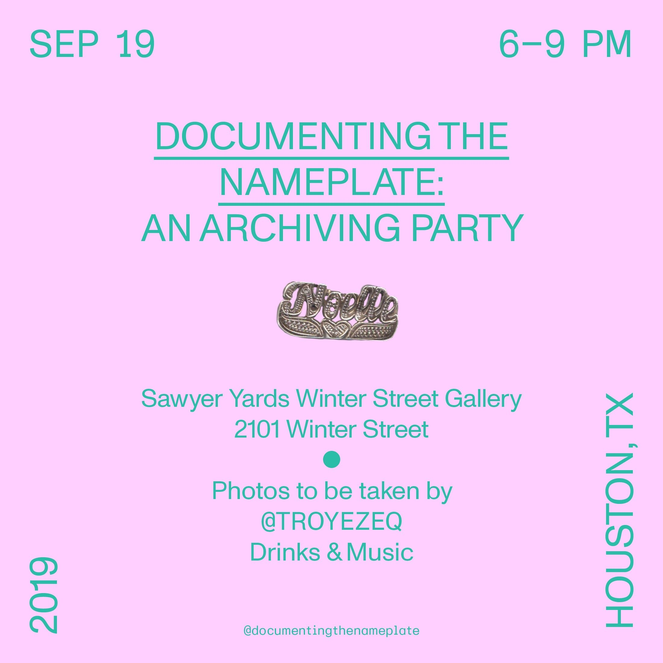 Scanning Party on 9/19/19