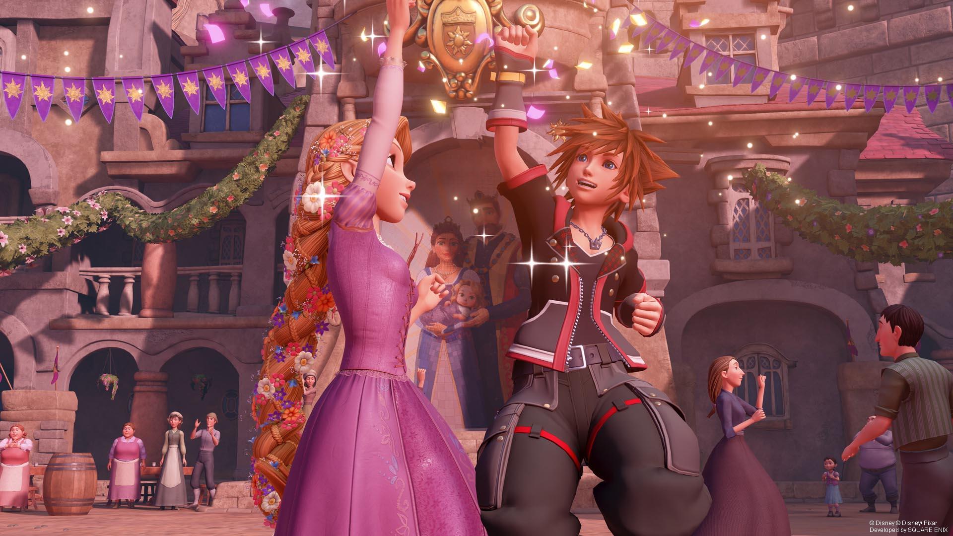 Dancing with Rapunzel