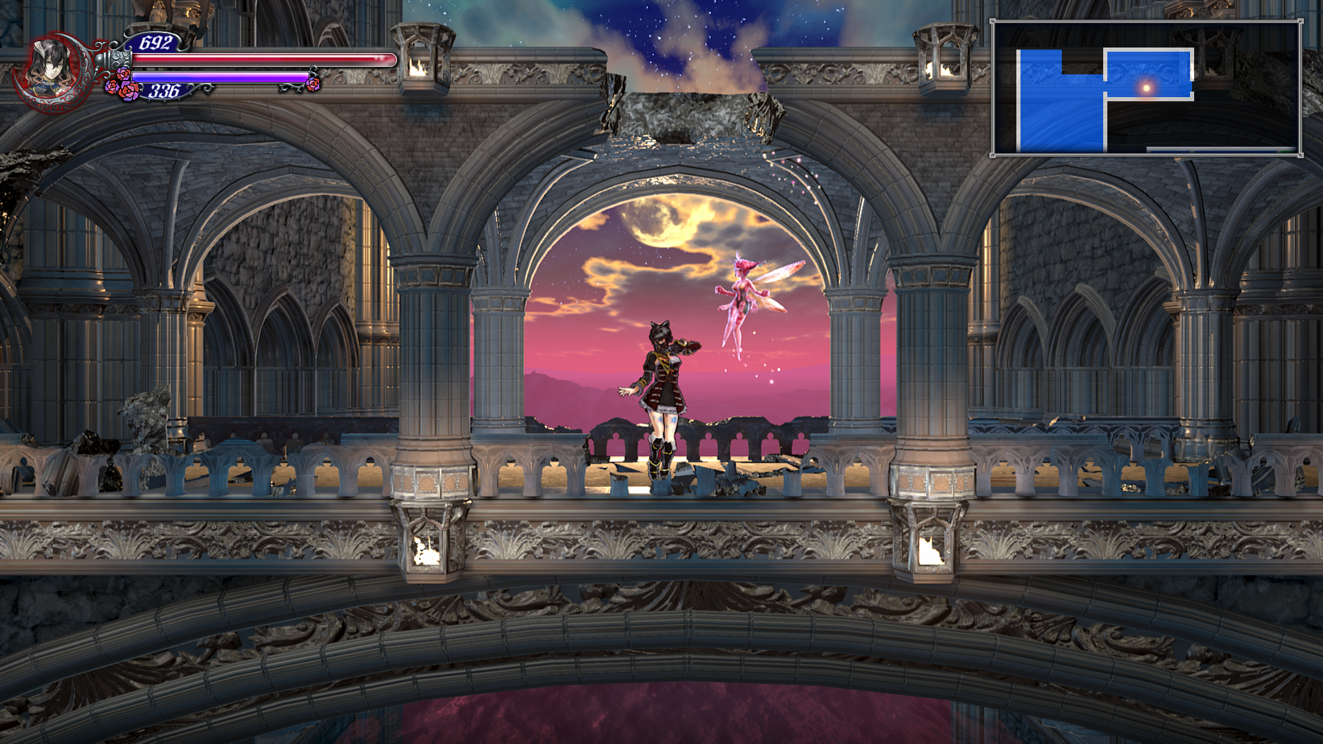 Symphony of the Night throw-back.