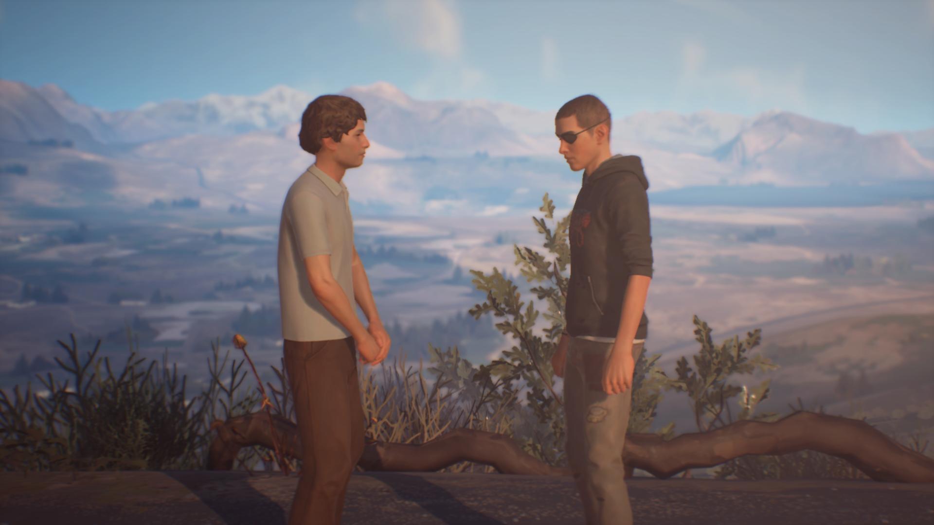 Sean meeting Jacob again.
