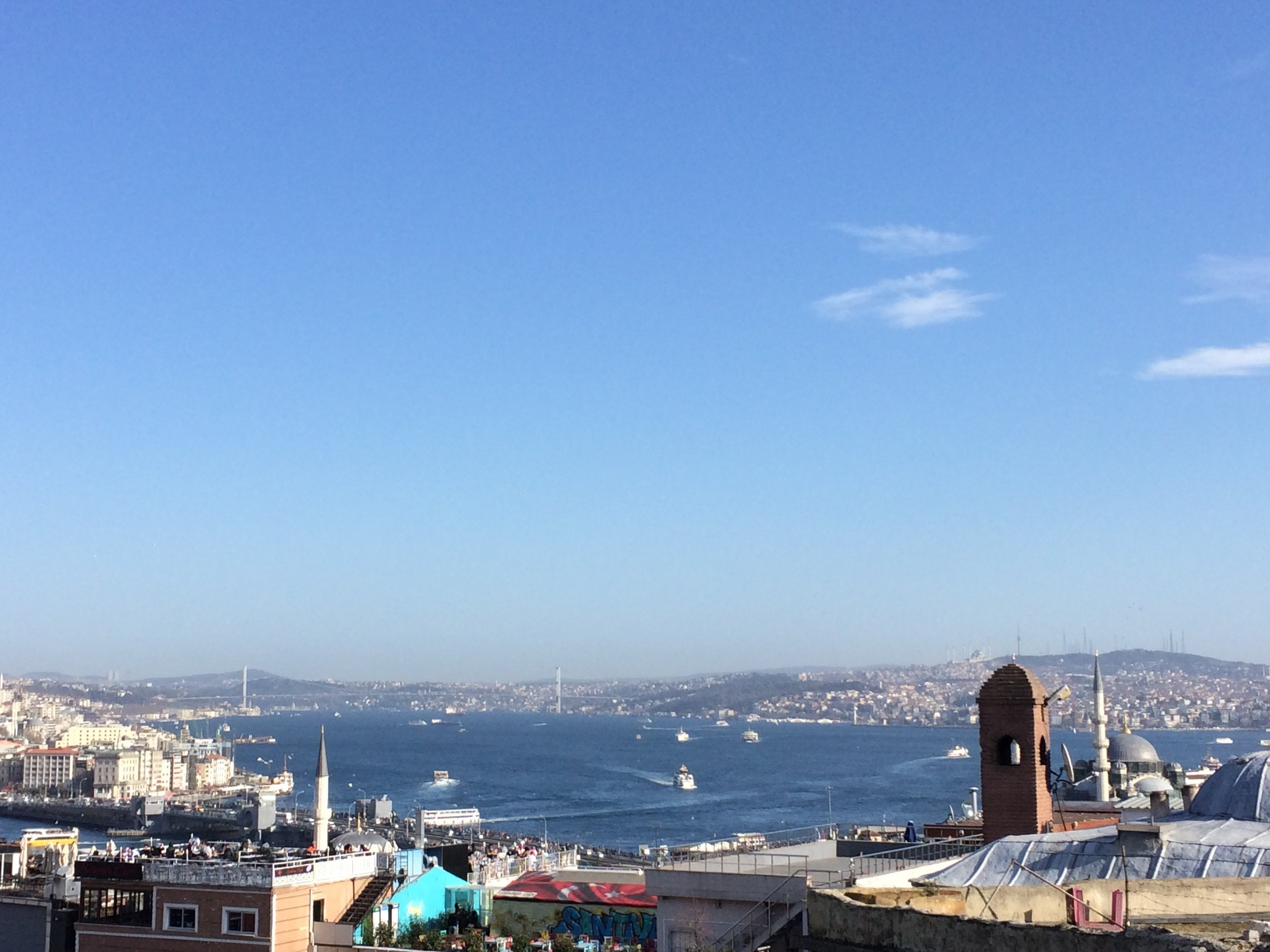 View from Sülemaniye Mosque.