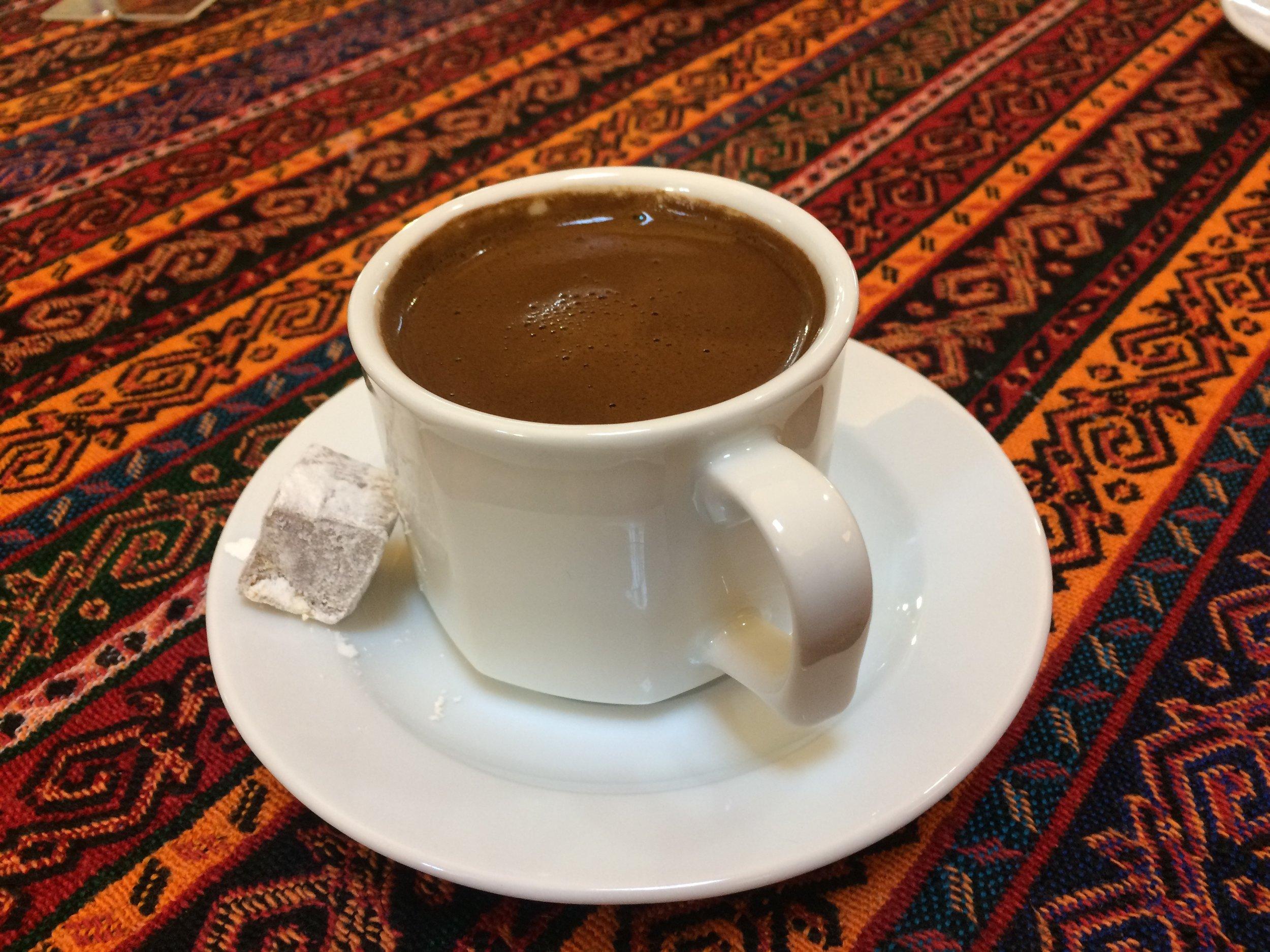 Türk kahvesi.