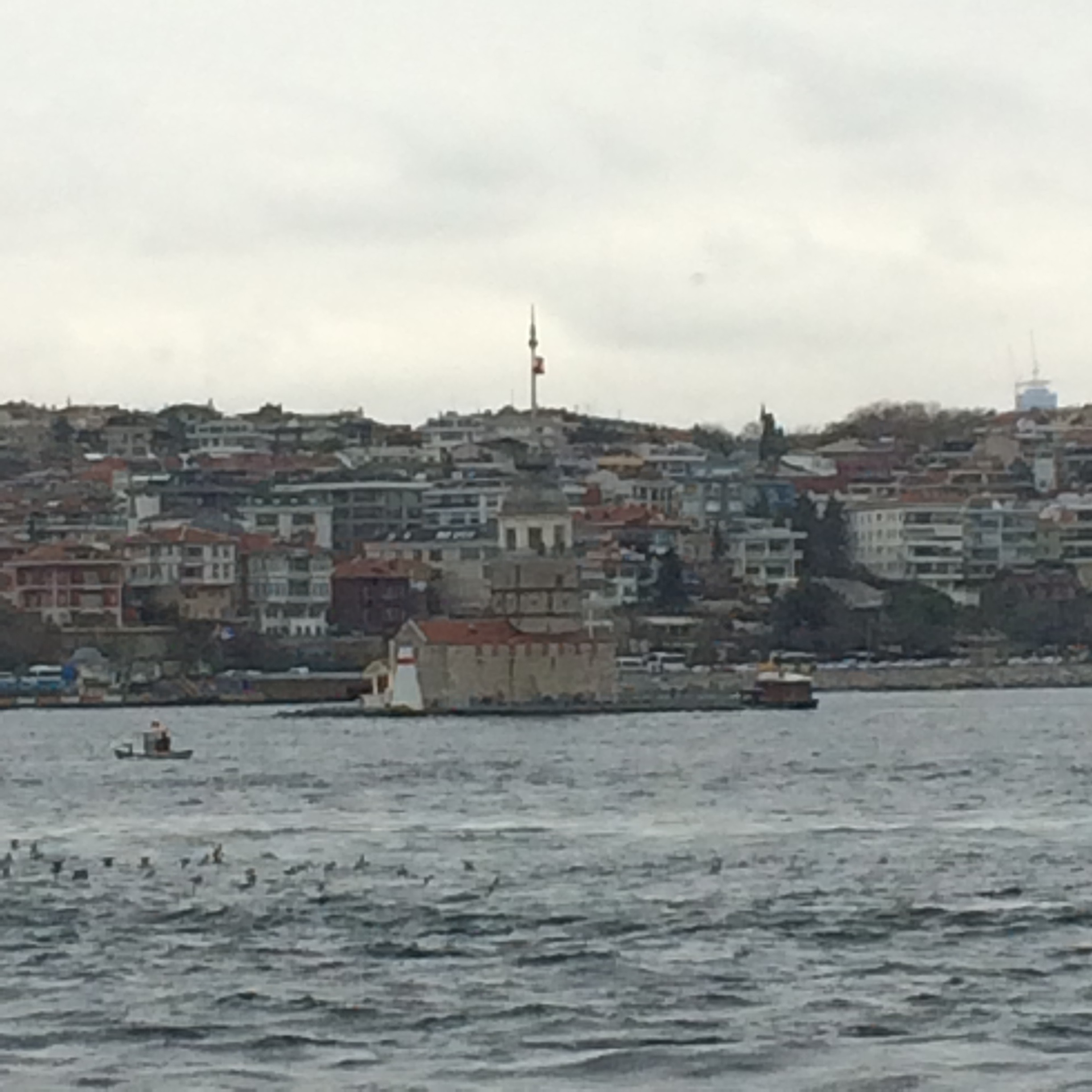 The Maiden's Tower.