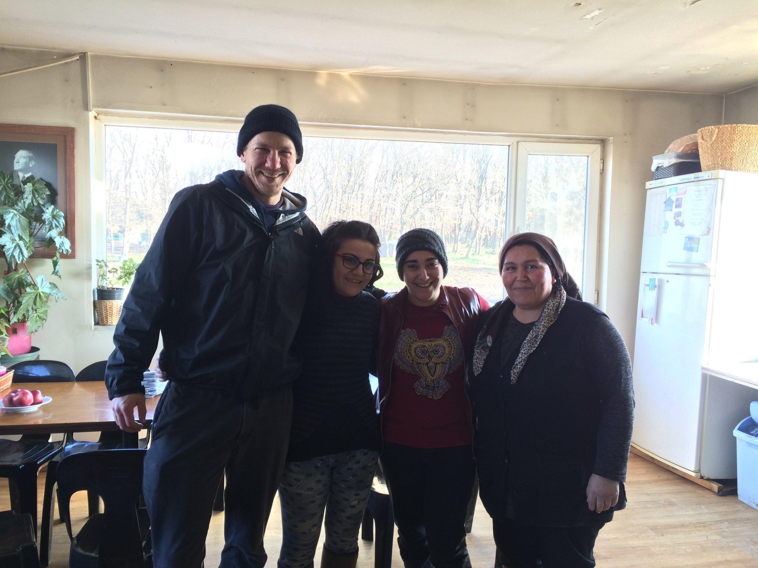 Ayşin, Sumeye, and Zahide