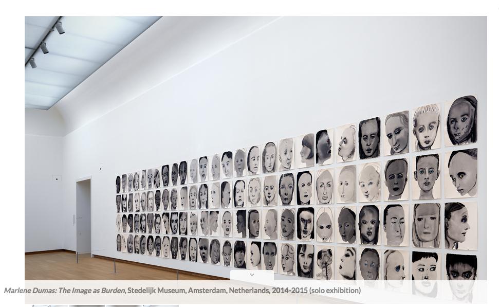 Marlene Dumas |    http://www.marlenedumas.nl/image-burden/#gallery/11287/913