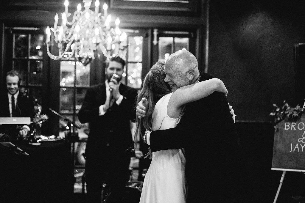 Father/Daughter dance ends, all smiles. Photo courtesy of Shannon Elizabeth (shannonelizabethphoto.com)