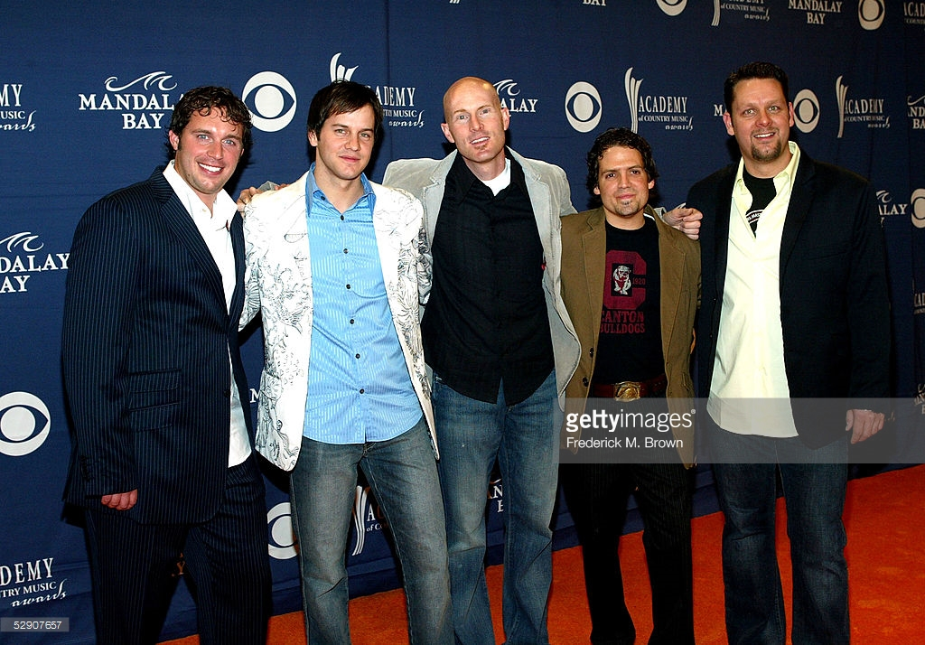 Ryan Shupe & the RubberBand (2005) Colin Botts, Bart Olson, Ryan Shupe, Roger Archibald, Craig Miner
