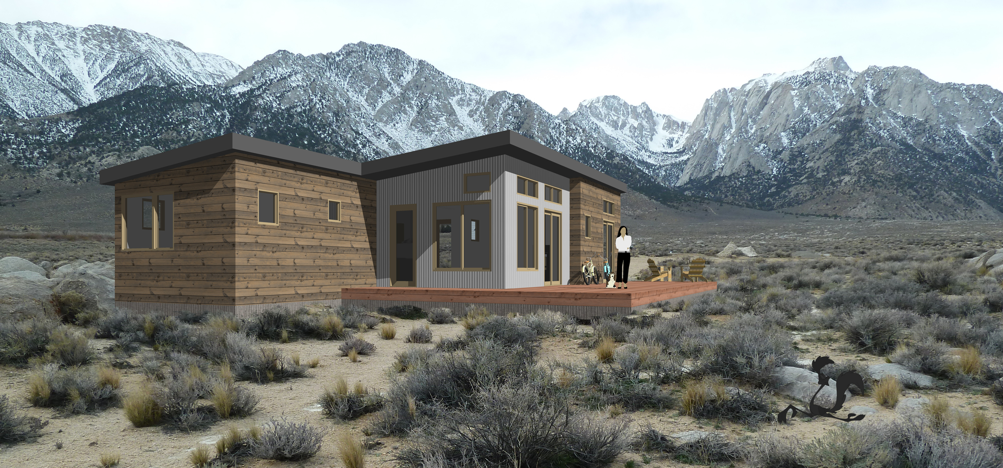 lone pine residence