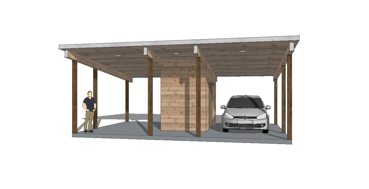 two car carport