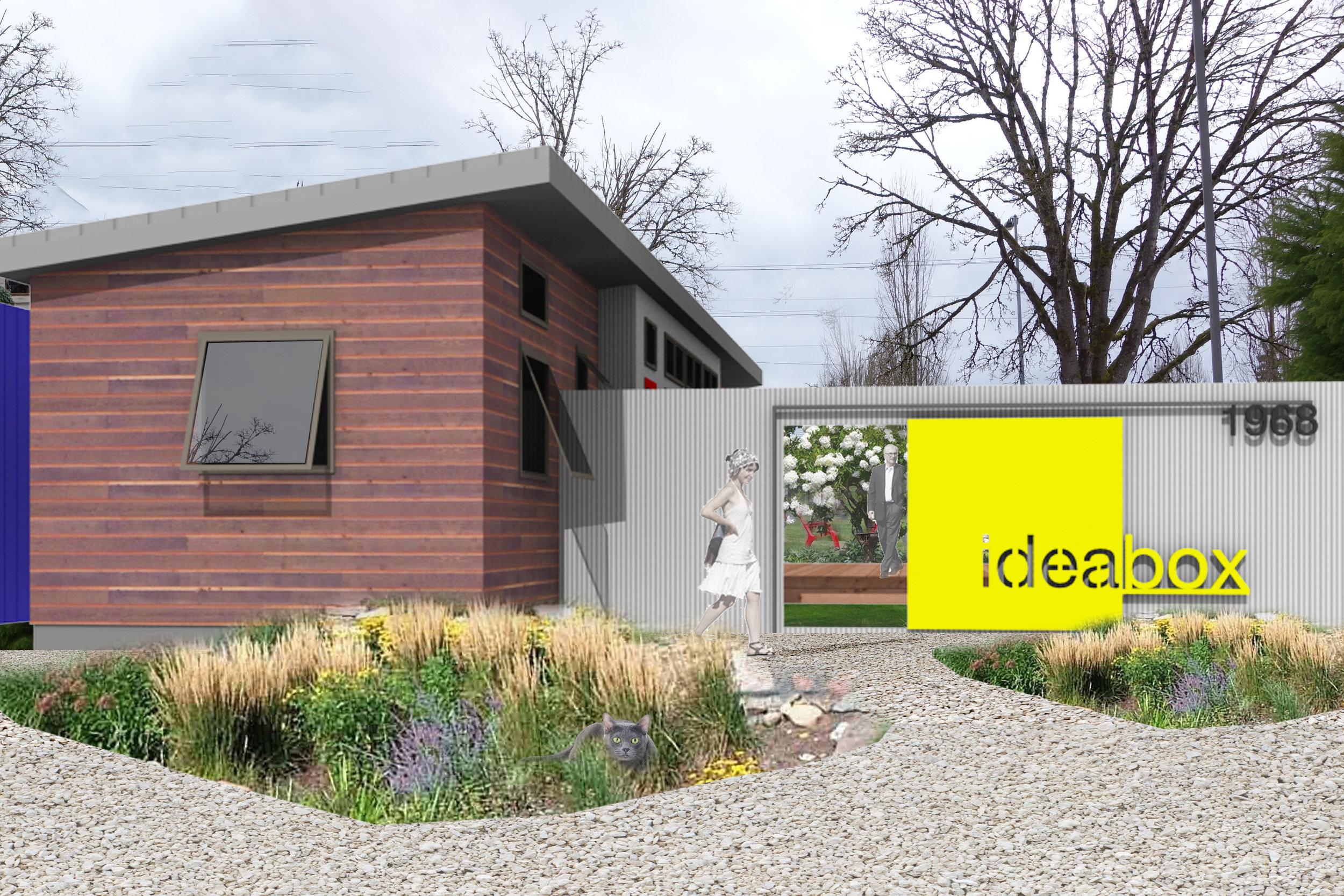 office garden concept