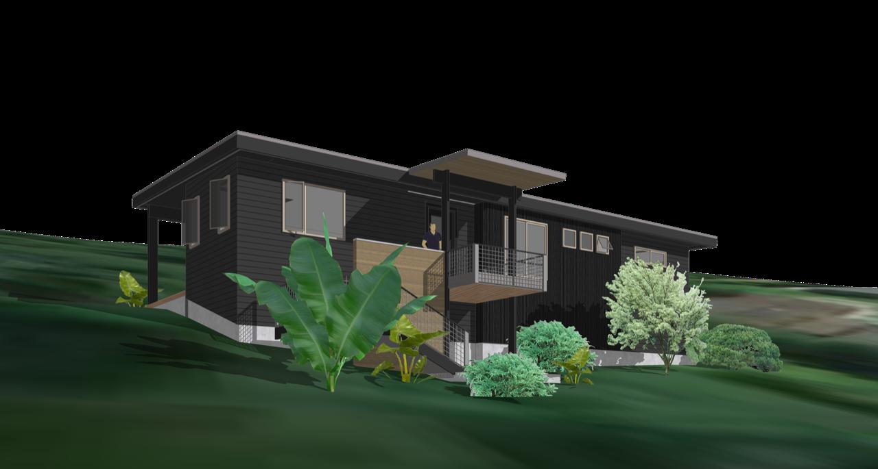 washington modern lake house