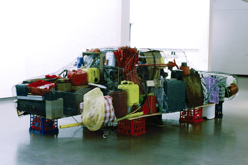 Sarah Goffman in Gettin' Lucky, 2001, curator Josie Cavallaro, Lewers Bequest, Penrith Regional Gallery, Sydney
