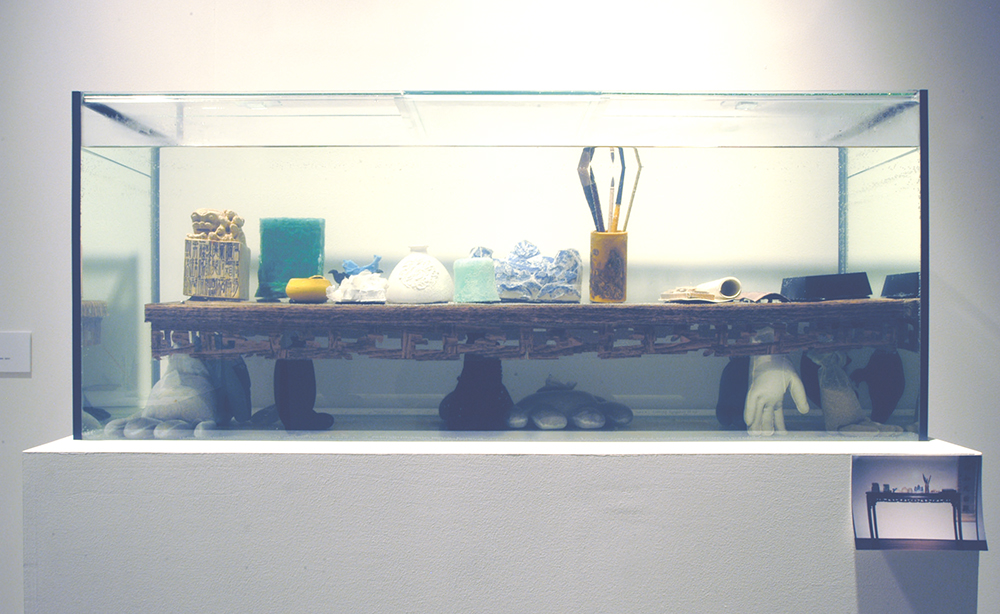 Sarah Goffman, Tank, 2005, Situation, curator Russell Storer, Museum of Contemporary Art, Sydney