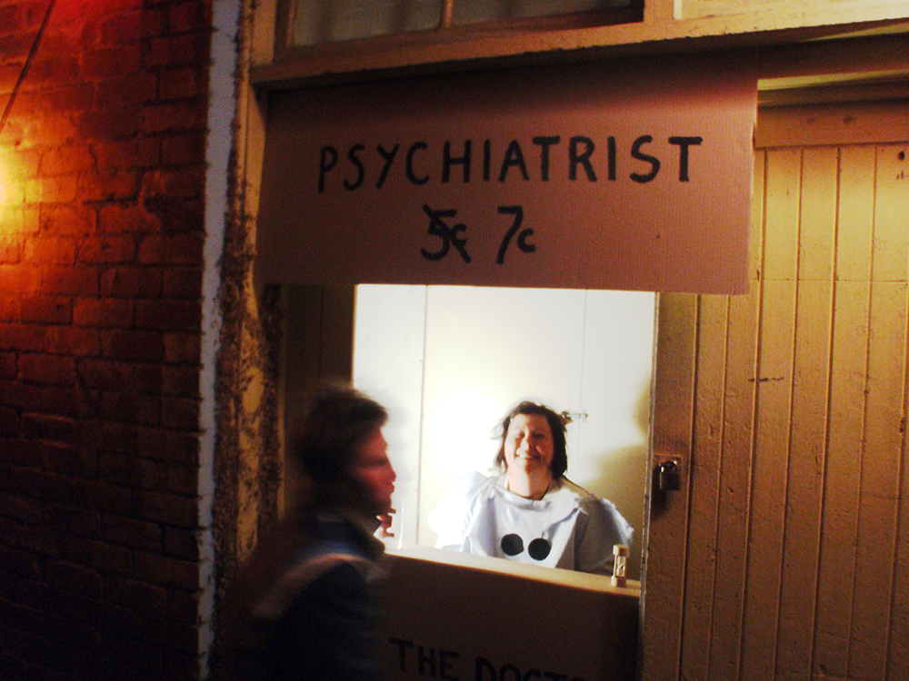 Sarah Goffman, Psychiatrist 7c, 2010, Girl Show, curator Jess Johnson, Hell Gallery, Melbourne