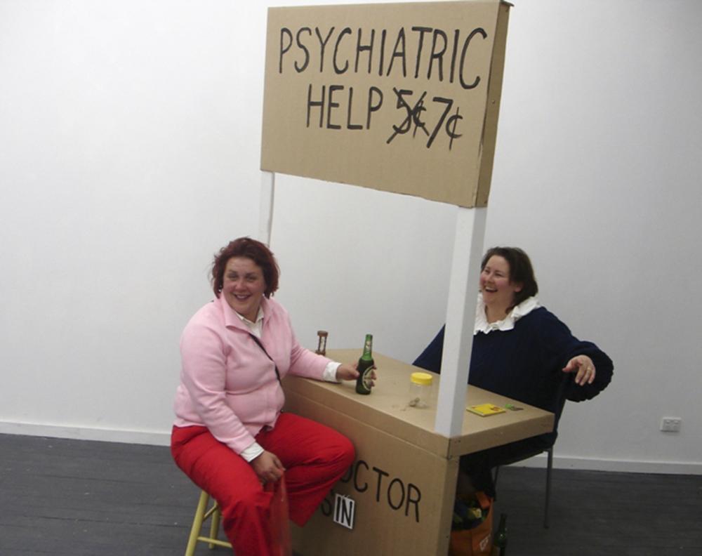 Sarah Goffman, Psychiatrist 7c, 2006, curator Carla Cescon, Loose Project Space, Sydney
