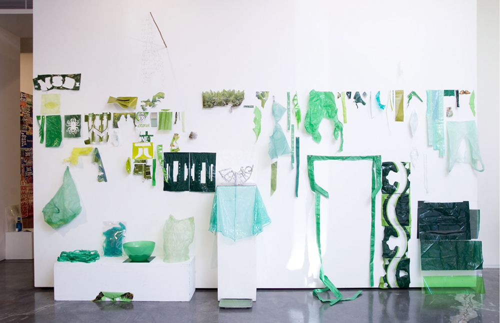 Sarah Goffman, Green Works, 2008, Paradise Found, Tin Sheds Gallery, The University of Sydney, Sydney