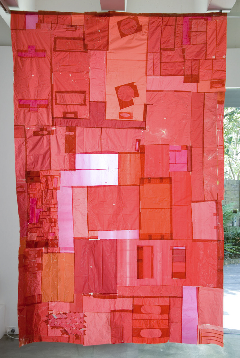 Sarah Goffman, Red Work, 2008, Paradise Found, Tin Sheds Gallery, The University of Sydney, Sydney