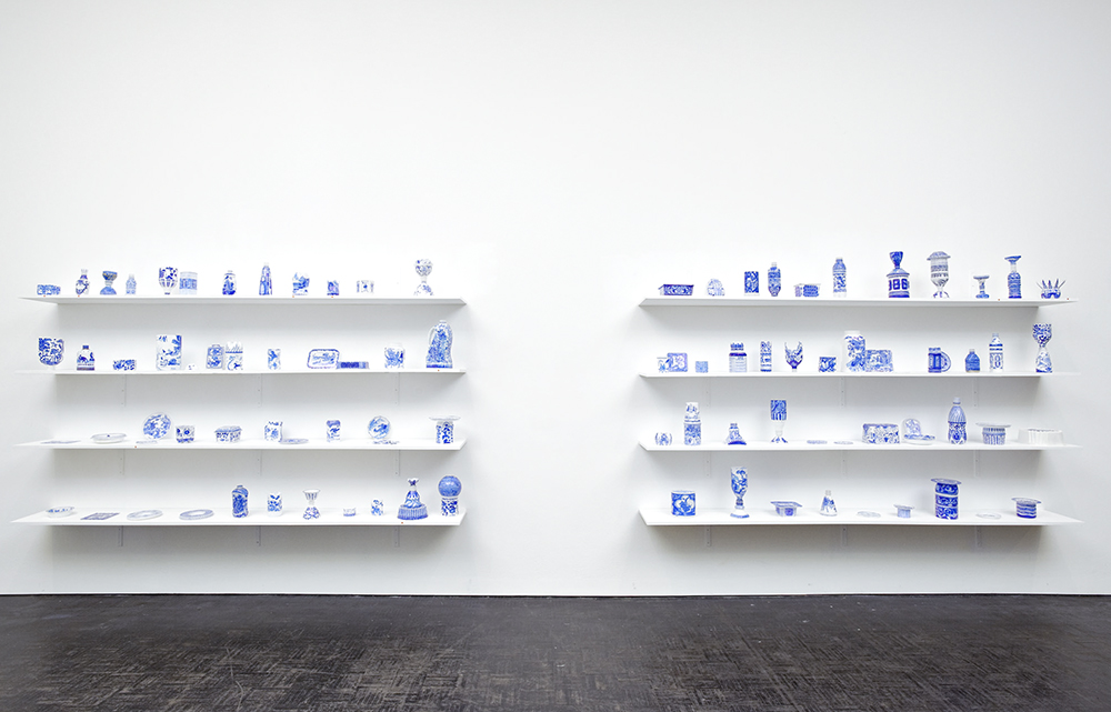 Sarah Goffman, Plastic Arts, 2009, The Good, The Bad, The Muddy, Mori Gallery, Sydney (photo: Mike Myers)