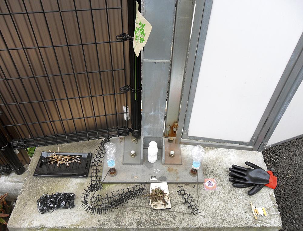 Sarah Goffman, Clean-up, 2011, Tokyo streets, Japan