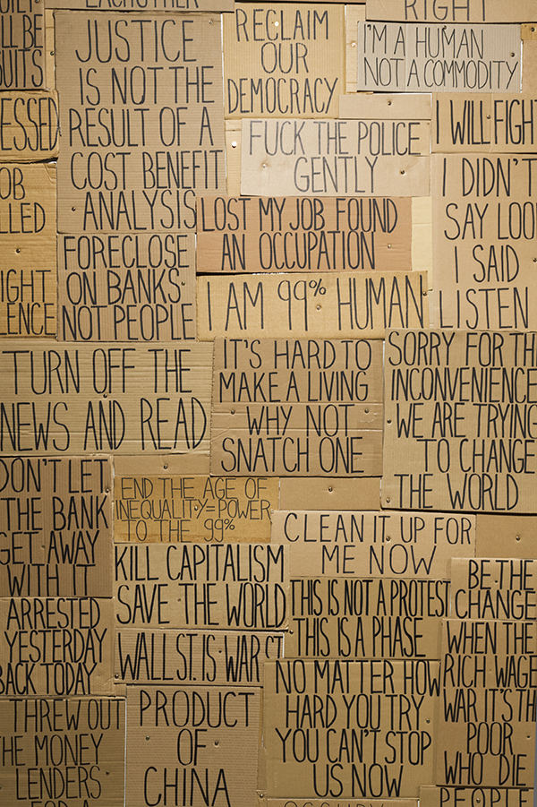 Sarah Goffman in Everything Falls Apart, 2012, curator Mark Feary, Artspace, Sydney