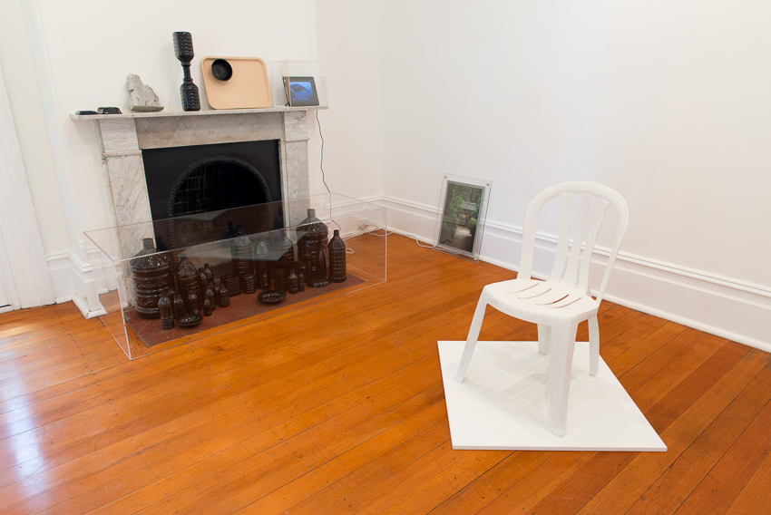 Sarah Goffman, Karakusa chair, 2012, Lewers House, Penrith Regional Gallery, Sydney