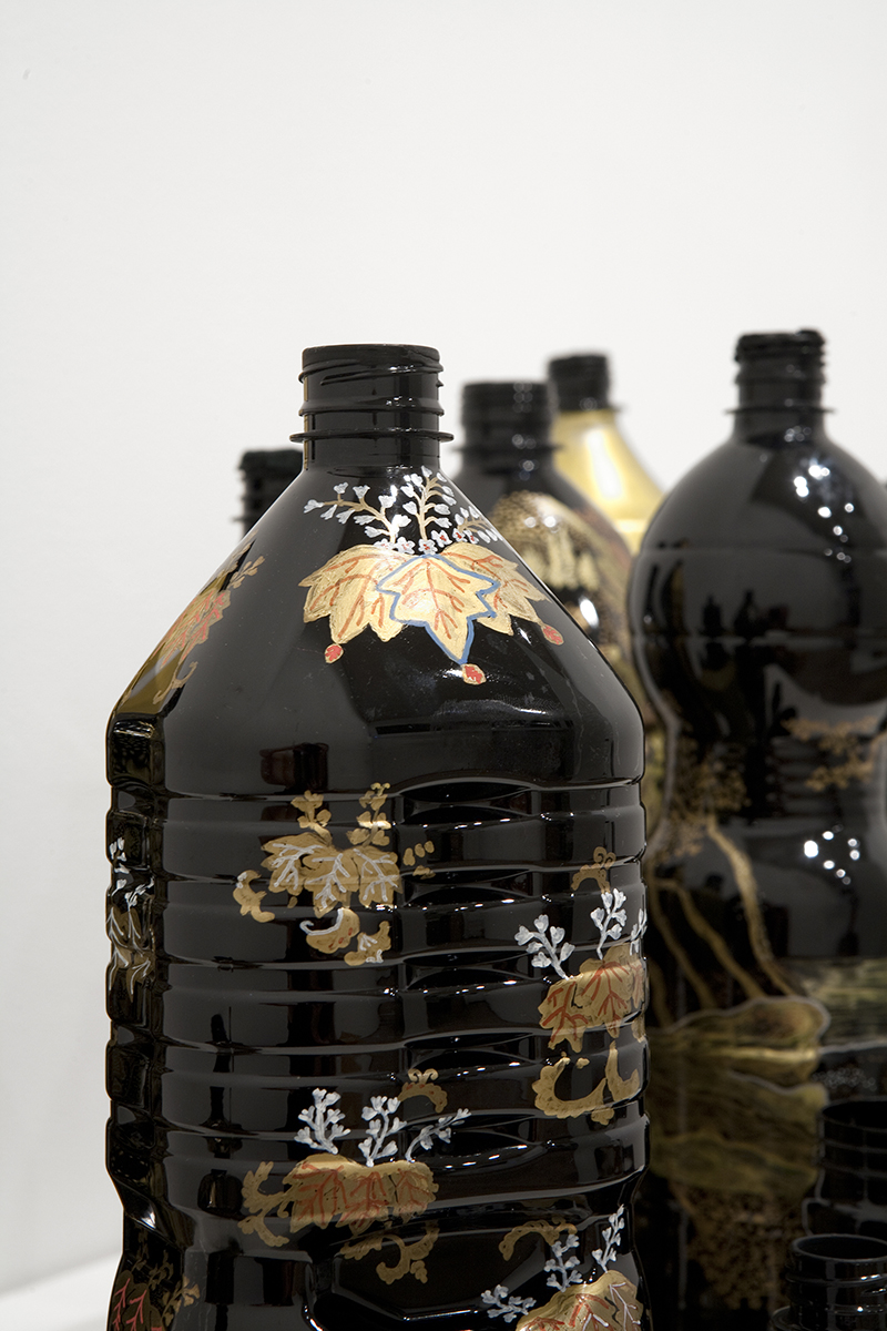 Sarah Goffman, Black and Gold, 2012 in JANIS II, 2013, Mclemoi Gallery, Sydney (photo: Jessica Maurer)