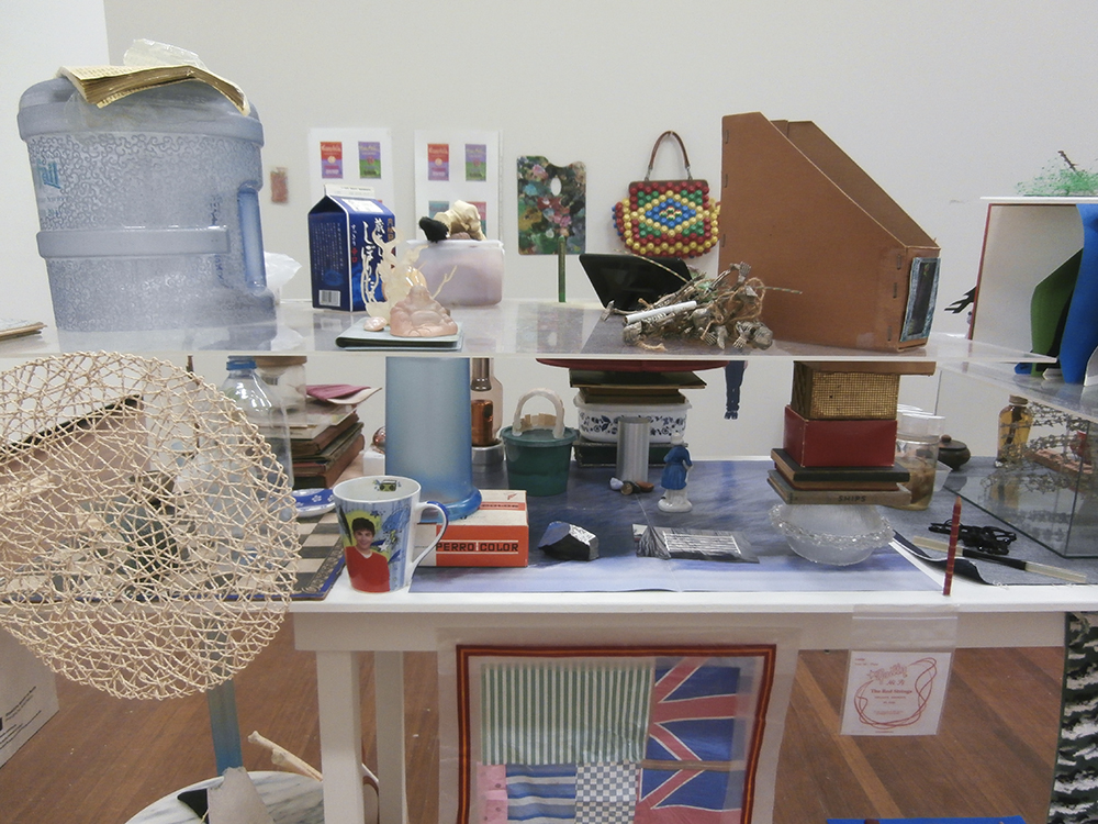 Sarah Goffman, Hard Rubbish, 2013, Camouflage, curator Nicholas Tsoutas, Sydney College of the Arts, The University of Sydney, Sydney