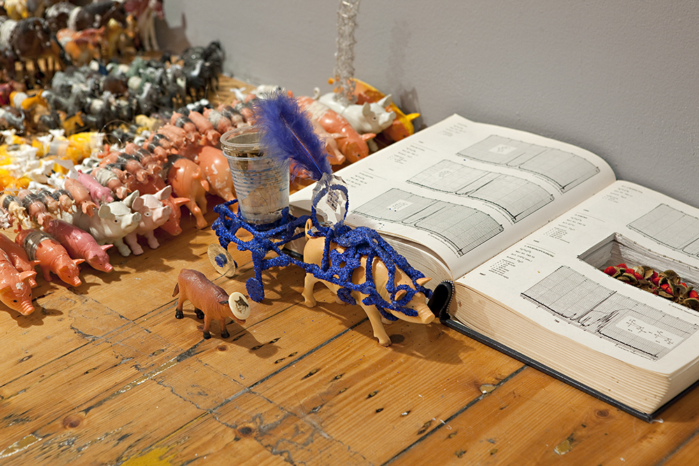Sarah Goffman in Cryptophilistinism, 2009, curator Amita Kirpalani, Gertrude Contemporary Art Space, Melbourne