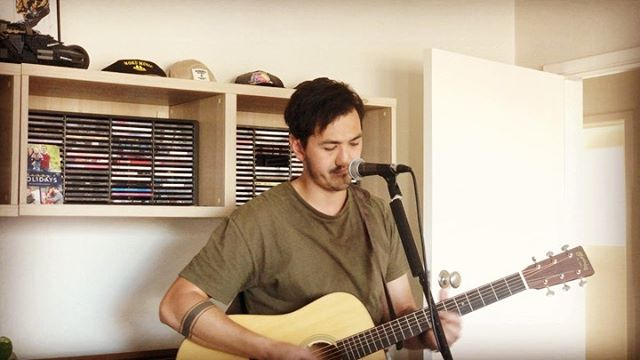 Dem new guitar feels. #martin #d18 #neilyoung #acoustic #musician #livemusic #canberra #spring