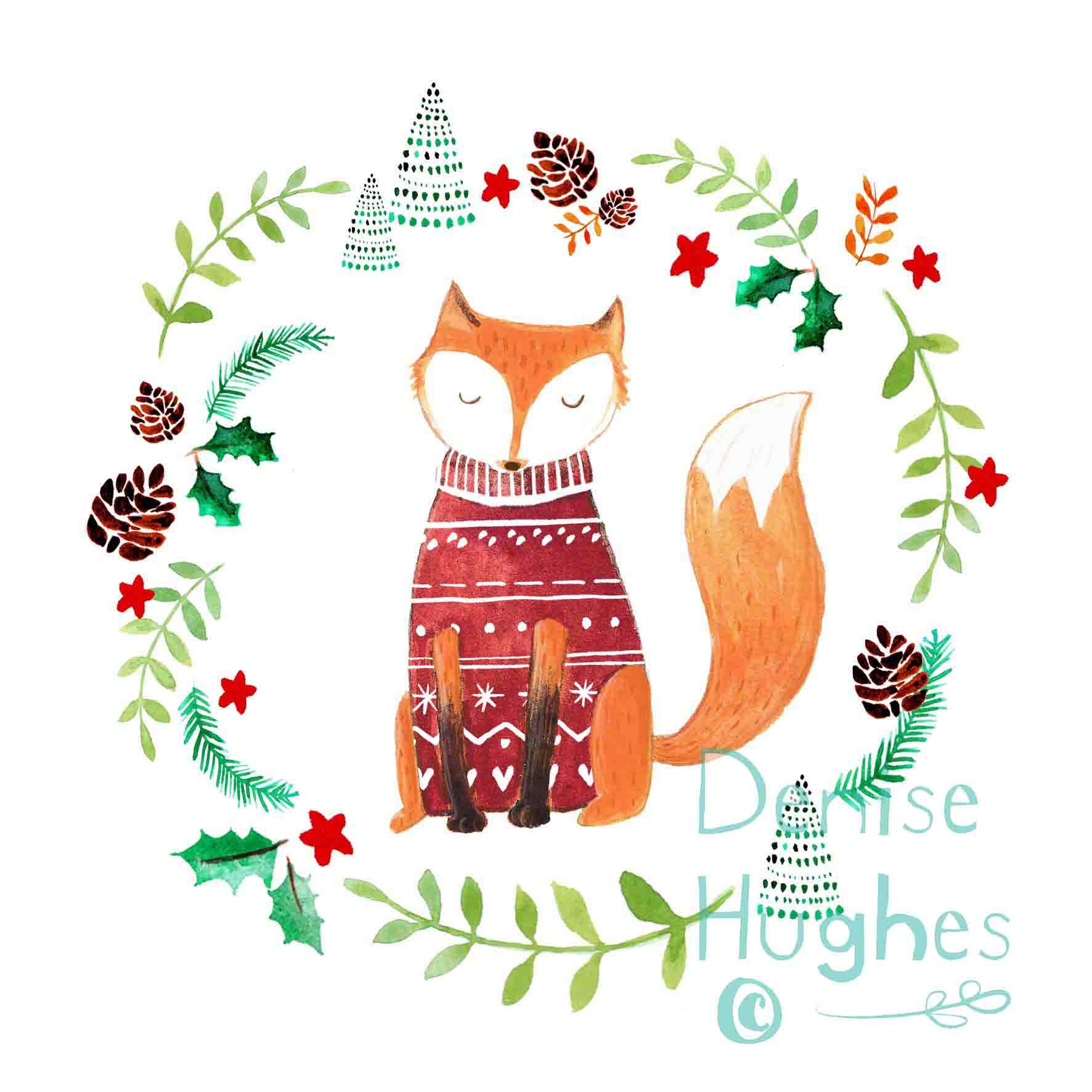 Woodland Christmas Fox.jpg