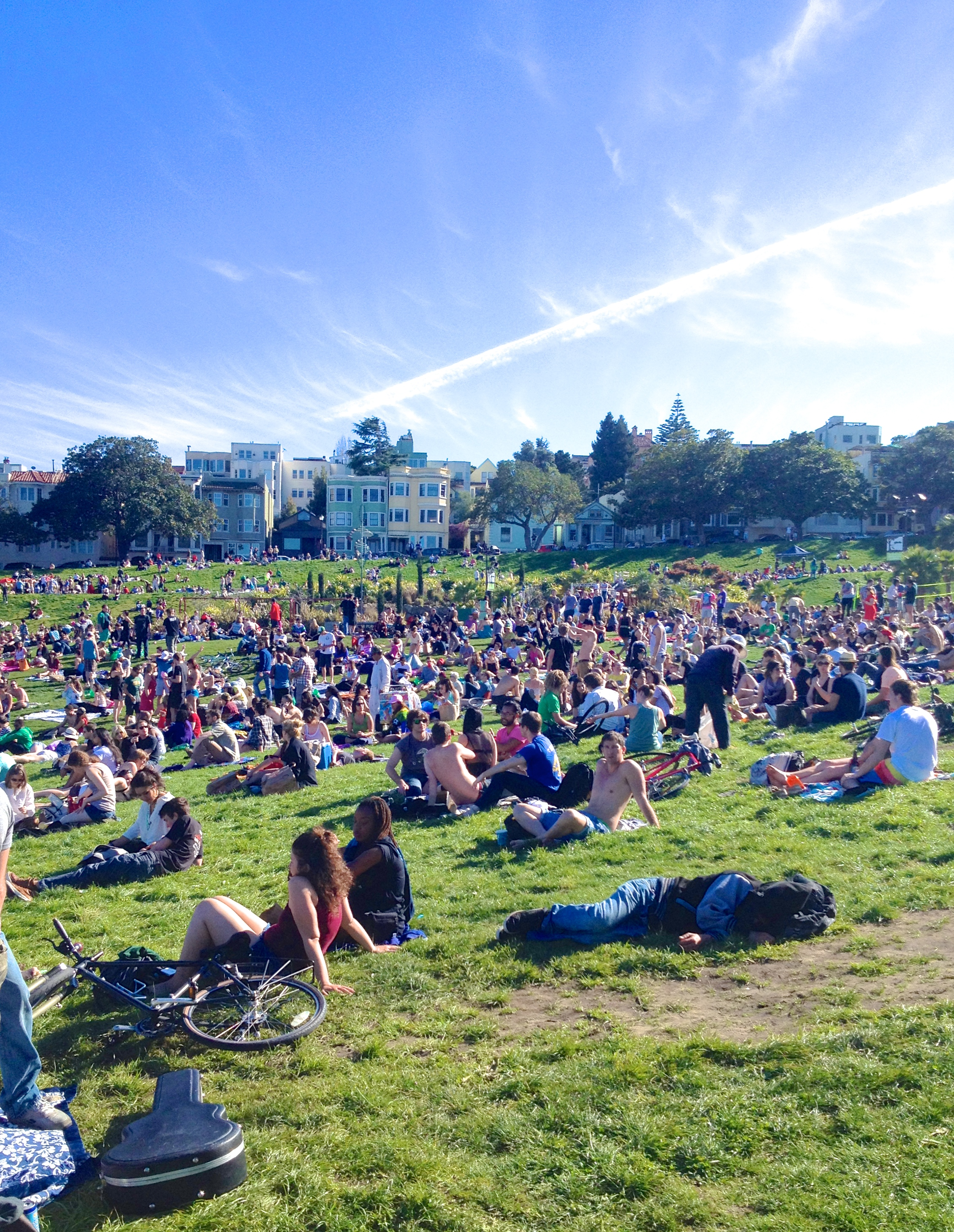 Dolores Park was built for sunny days