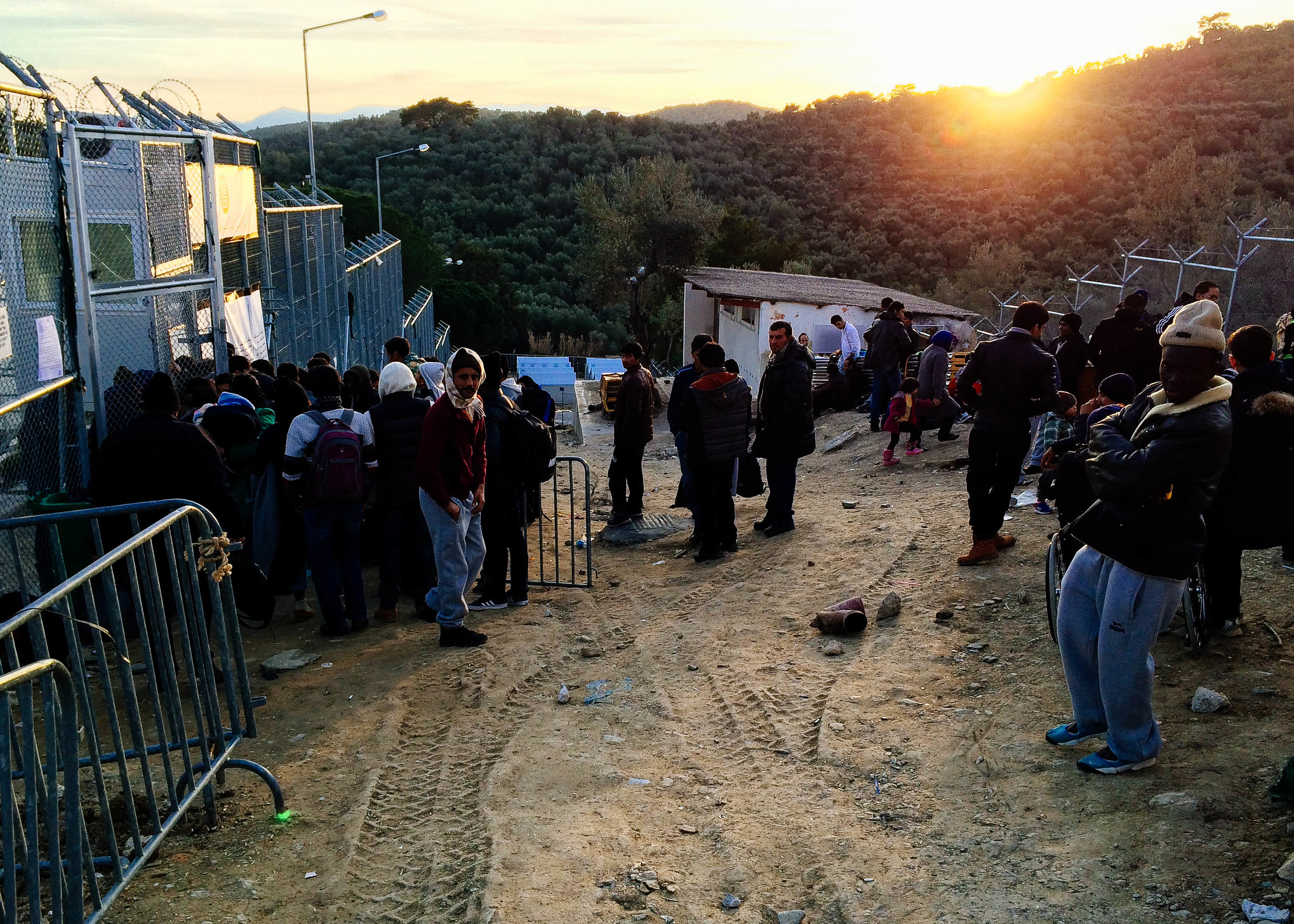 (Non-Syrian Registration, Moria Camp)