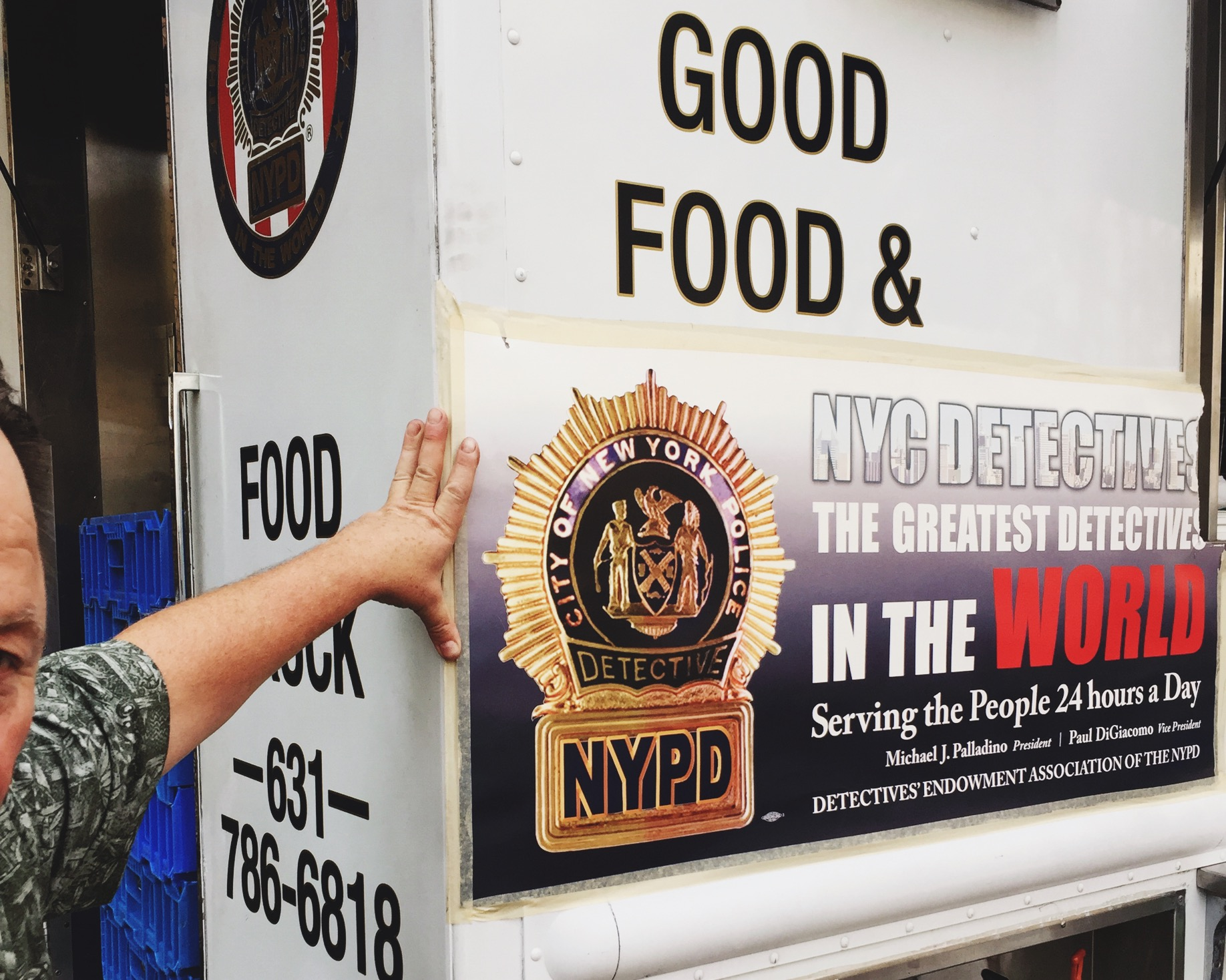 New York's Food First Responders  - Midtown Gazette, October 2, 2016.