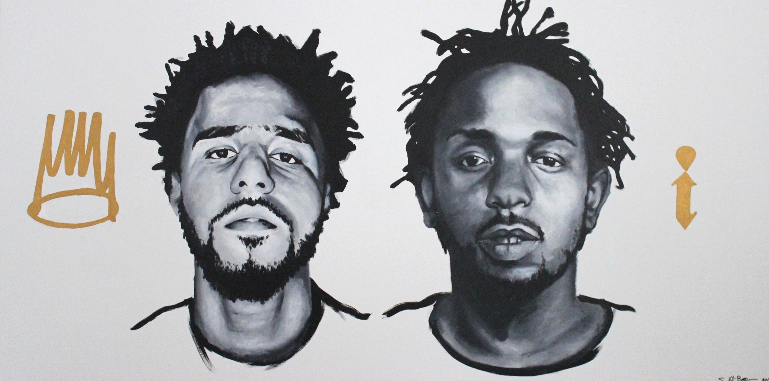 KINGS, 2016, acrylic on canvas