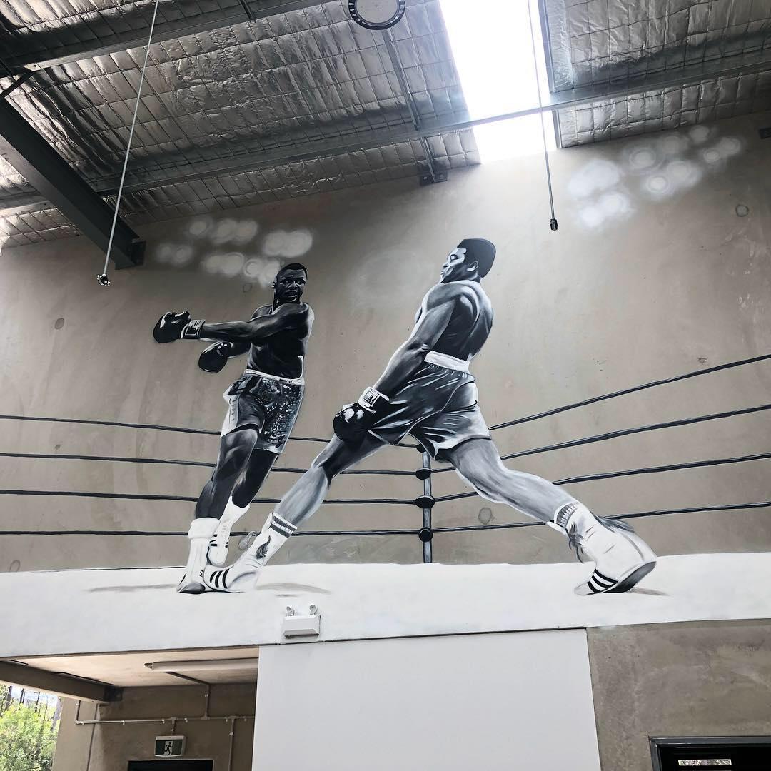 Mural for NexLevel Fitness, 2018