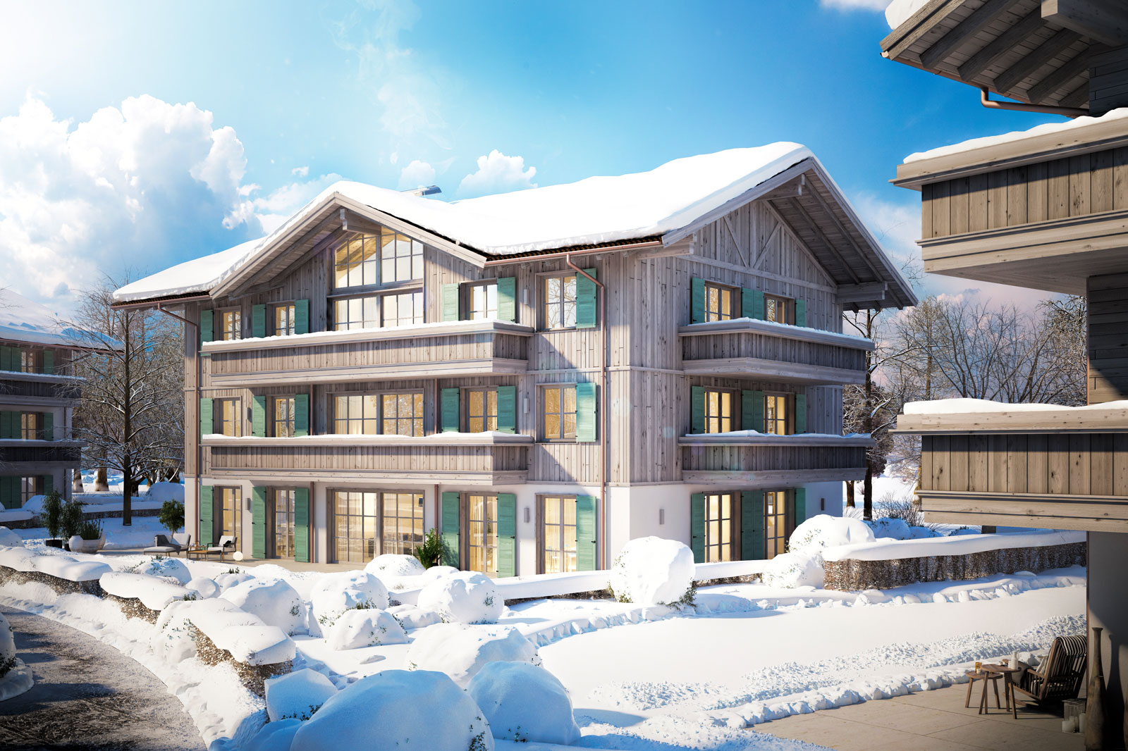 Villa Ringberg im Winter