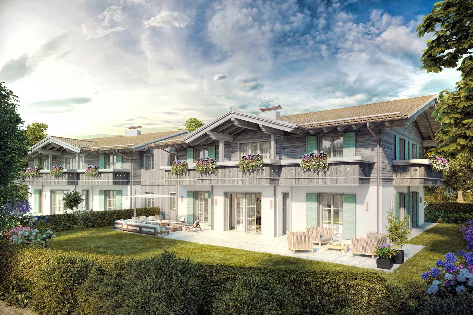 Wohnungen am Tegernsee - Villa Hirschberg