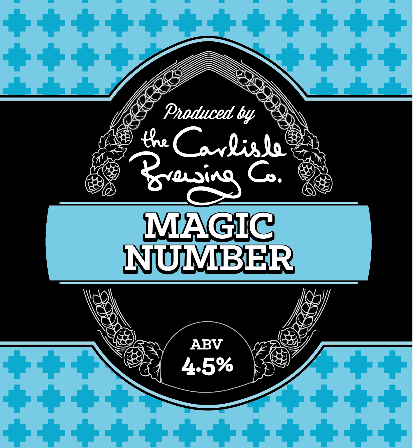 A premium bitter with caramel and toffee flavours.   Alain says his Magic Number is 4.5. From all the beers he has drunk and enjoyed over the years, his favourites all seem to have an ABV of 4.5%. This Magic Number is based on traditional English XBs. This is a premium bitter, soft and smooth with indulgent caramel and toffee flavours and Iightly bittered to give a refreshing malty beer.