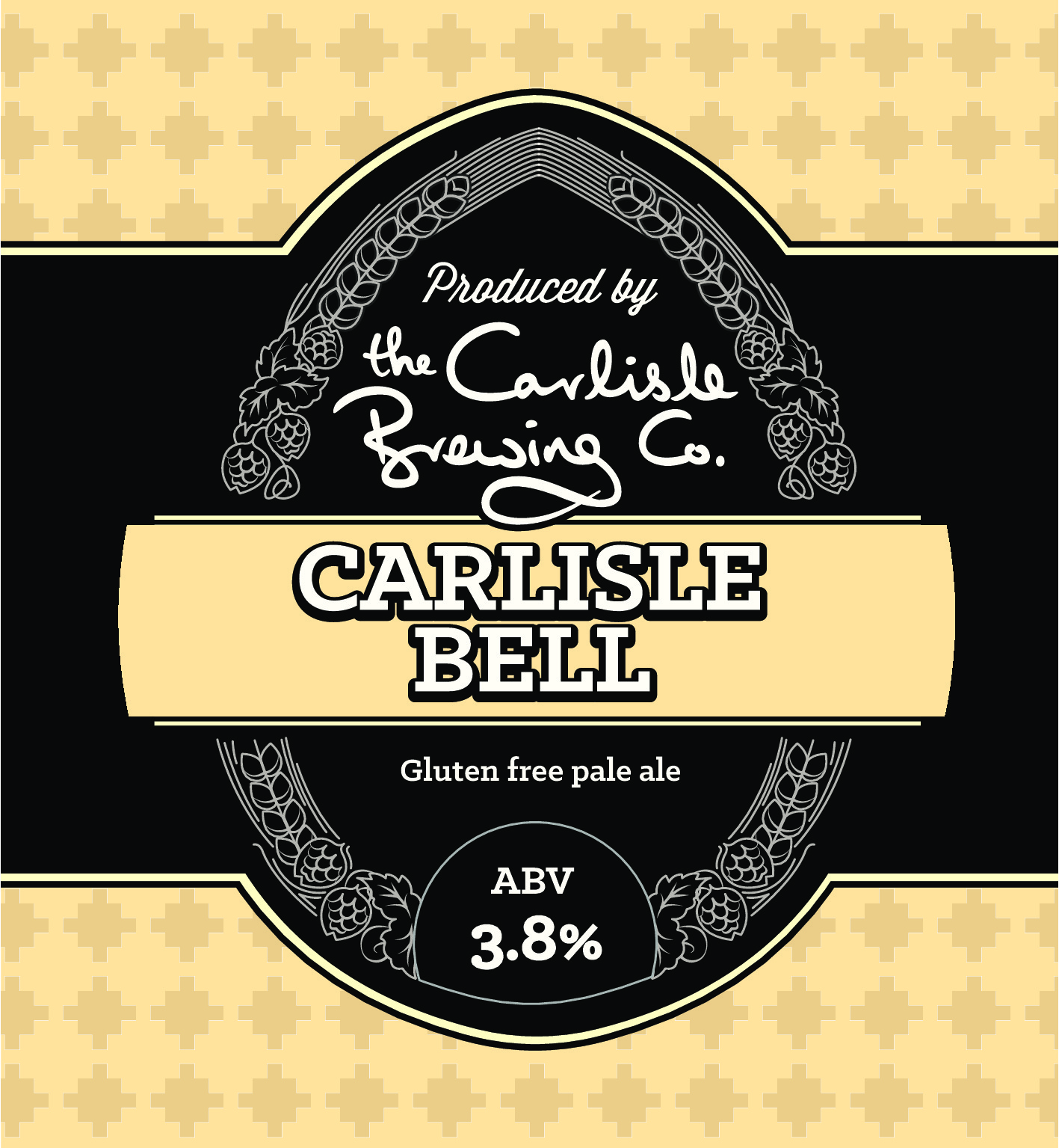 Lovely Pale Ale   Named after the famous race, which has been run in Carlisle since the 1700's, our Carlisle Bell has a light citrus and tropical fruit flavour.  It has the added advantage of being gluten free!!!.