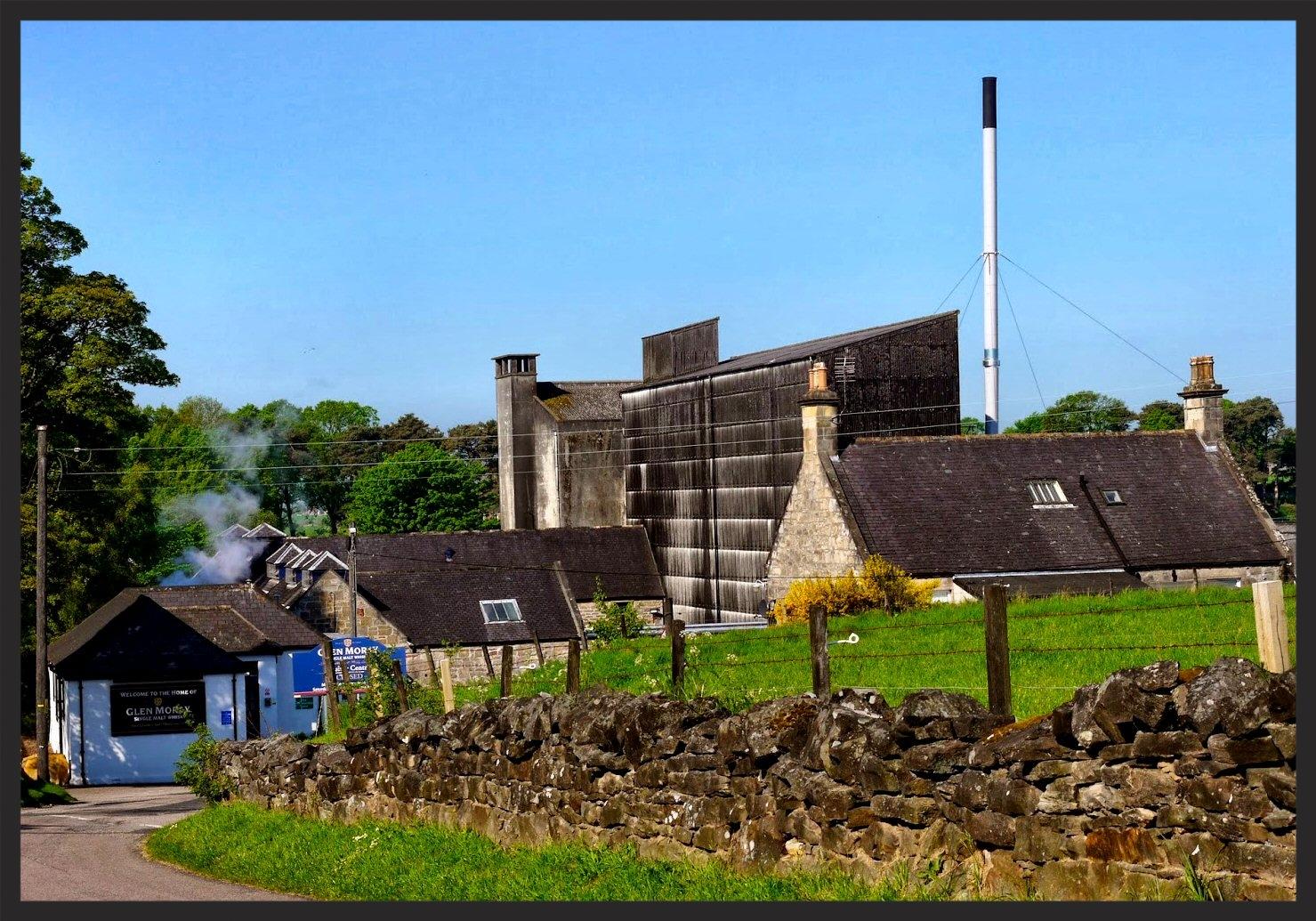 The Glen Moray distillery.