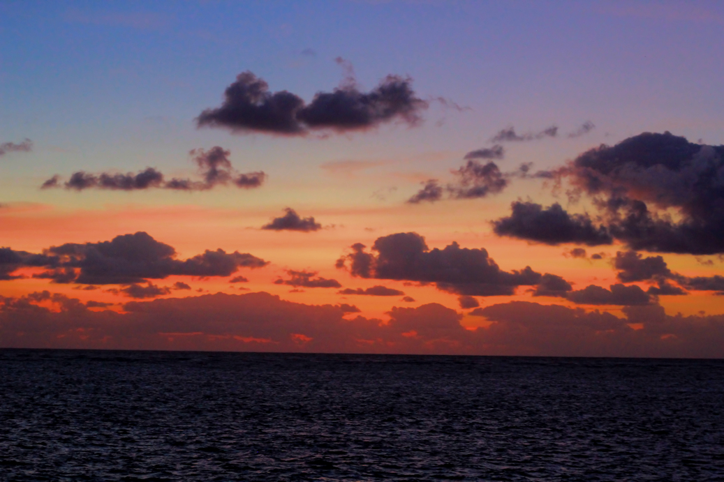 Sunset on The Reef. One more dive tonight then it's El Dorado time!