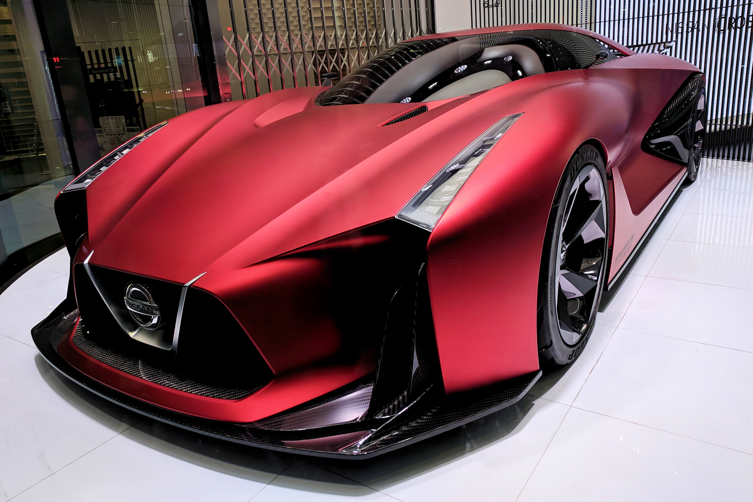While gorgeous and obscenely expensive, this concept car can not leave its Ginza showroom unaided. It bears no relation to high-end hi-fi…