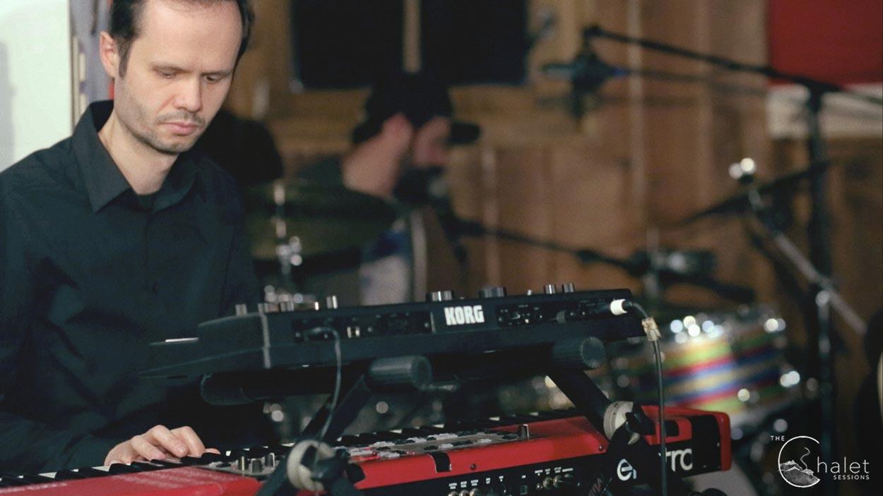 Martinez Session - keyboardist and drummer