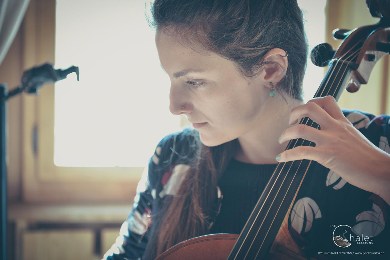 Quiet Island Session - cellist