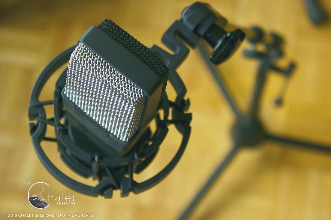 Craig Cardiff Session - AKG 414 mic