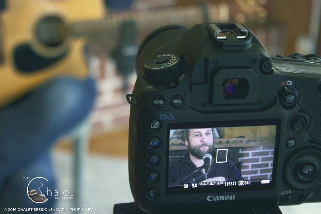 Craig Cardiff Session - filming on Canon 5D MKIII