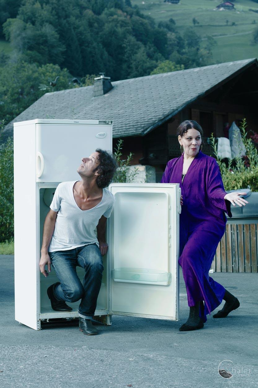 Nadja Zela Session - Nadja Zela Michel Lehner and fridge