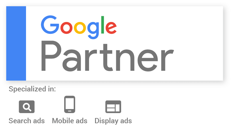 Click logo to verify Google Partner badge