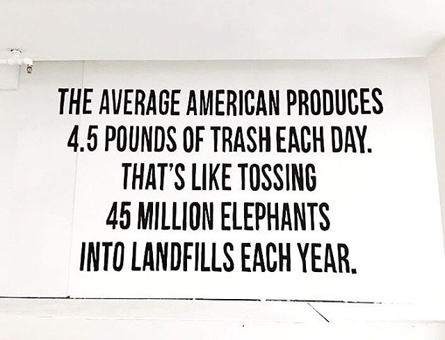 A big chunk of these elephant equivalents is the 380 million plastic bags used and disposed in the US each year 🐘🐘 We can turn these statistics around with simple, innovative solutions, such as those offered by @boomerangbags 🌿♻️🌏 #WearYourImpact #ChooseYourImpact