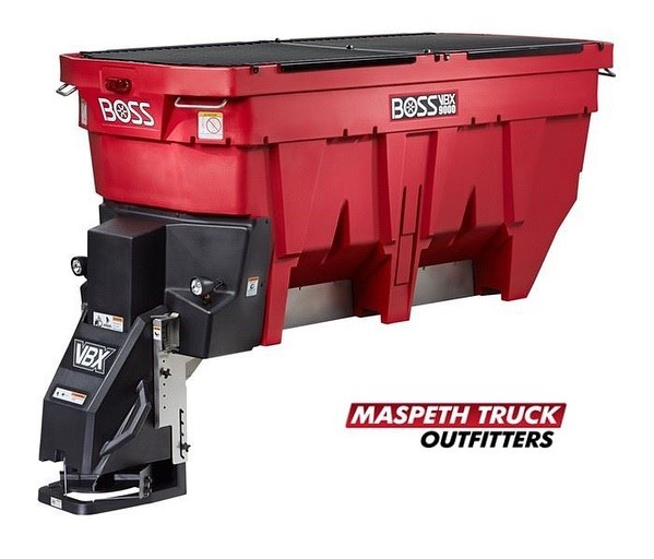 Call or email us TODAY for special pre-season pricing on this BOSS VBX9000 Spreader! — yes, call now! Its never too early to get ready for SNOW ❄️!